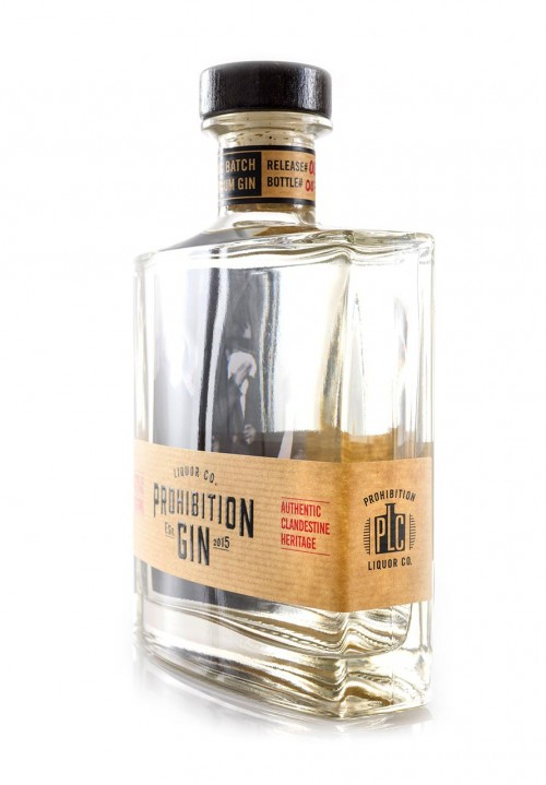Prohibition Liquor Co Original Gin - Angled