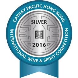 Hong Kong International Wine and Spirit Competition - Silver - 2016