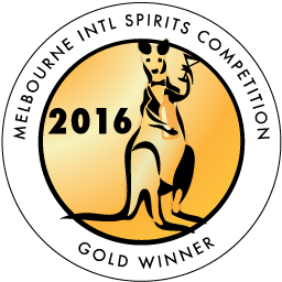 Melbourne International Spirits Competition - Gold - 2016