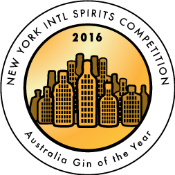 New York International Spirits Competition - Gold - 2016