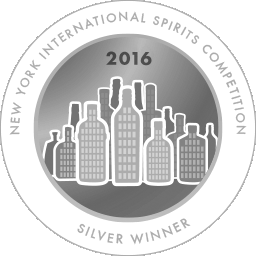 New York International Spirits Competition - Silver - 2016