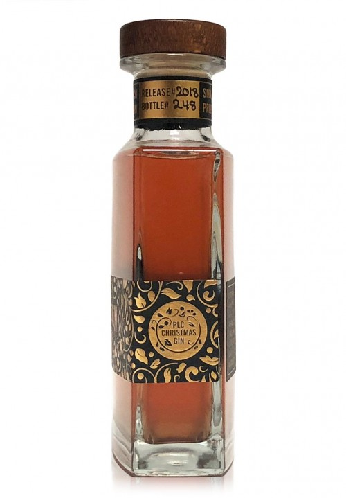 Prohibition Liquor Co Christmas Gin Side