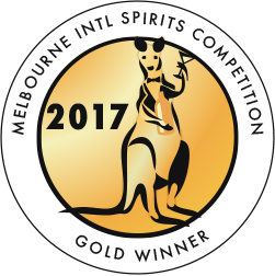 Melbourne International Spirits Competition - Gold - 2017
