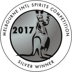 Melbourner International Spirits Competition - Silver - 2017