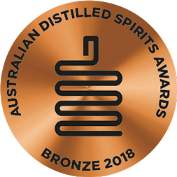 Australasian Distilled Spirits Awards - Bronze 2018