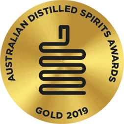 Australian Distilled Spirits Awards - Gold 2019