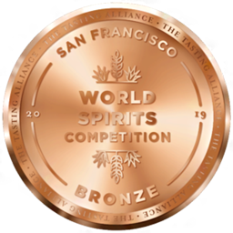 San Francisco World Spirits Competition – Bronze 2019
