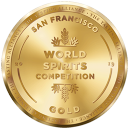 San Francisco World Spirits Competition – Gold 2019
