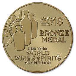 New York World Wine and Spirits Competition – Bronze – August 2018