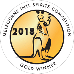 Melbourne International Spirits Competition - Gold - 2018