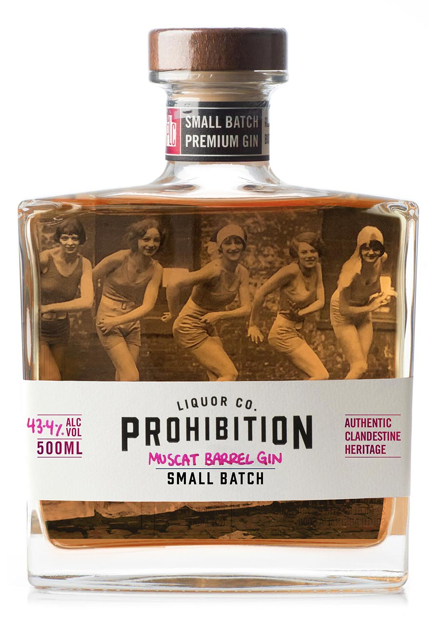 Prohibition Muscat Gin - Front