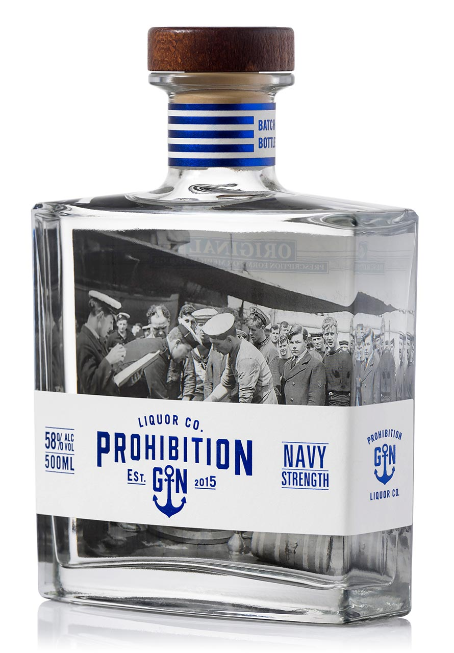 Prohibition Navy Strength Gin Angle