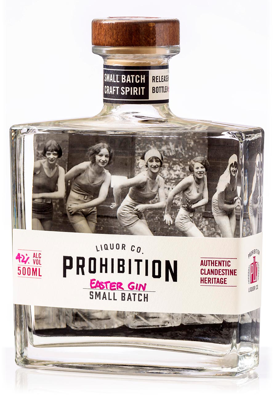 Prohibition Liquor Co Easter Gin - Front