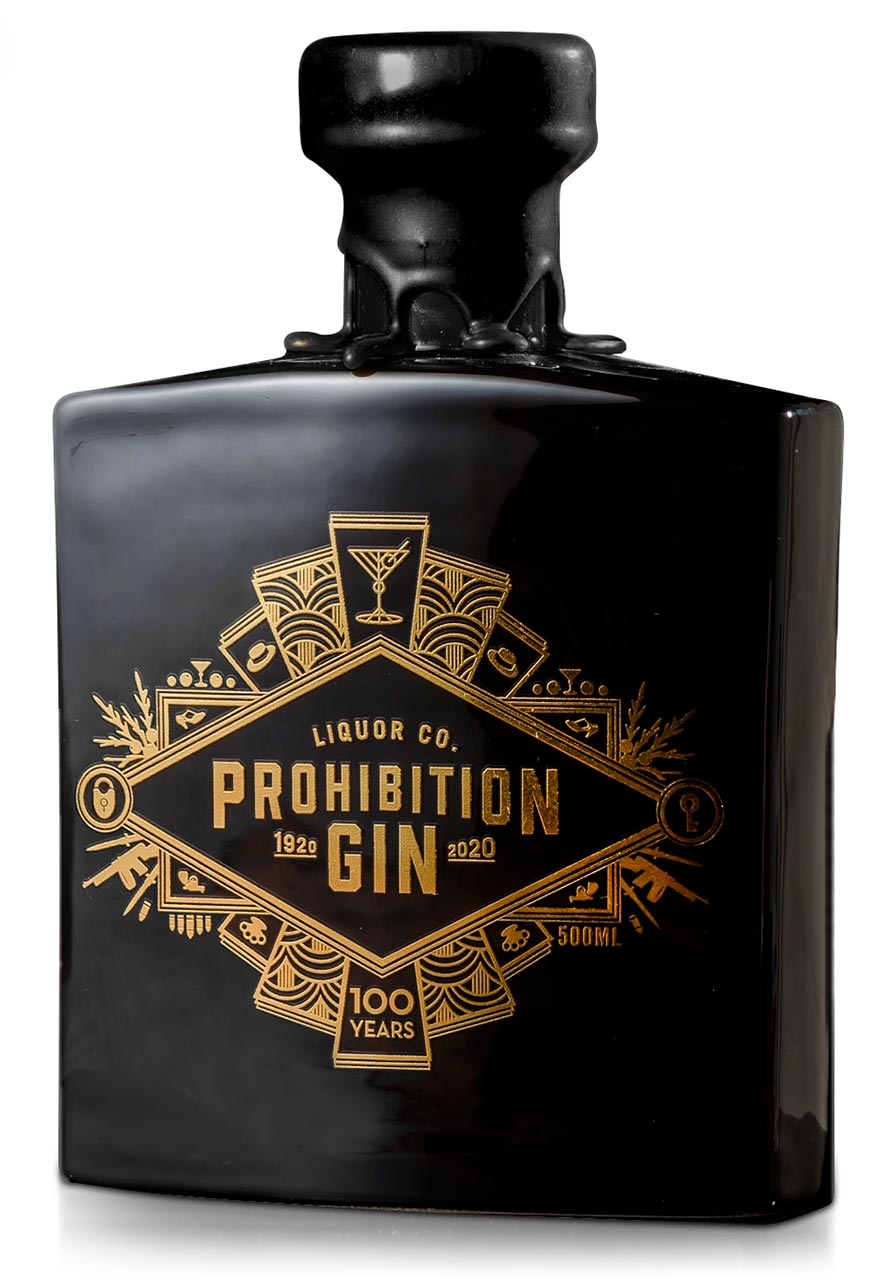 100 Year Anniversary Gin Front