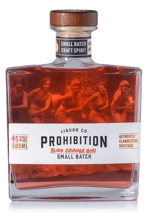 PLC Blood Orange Gin Front